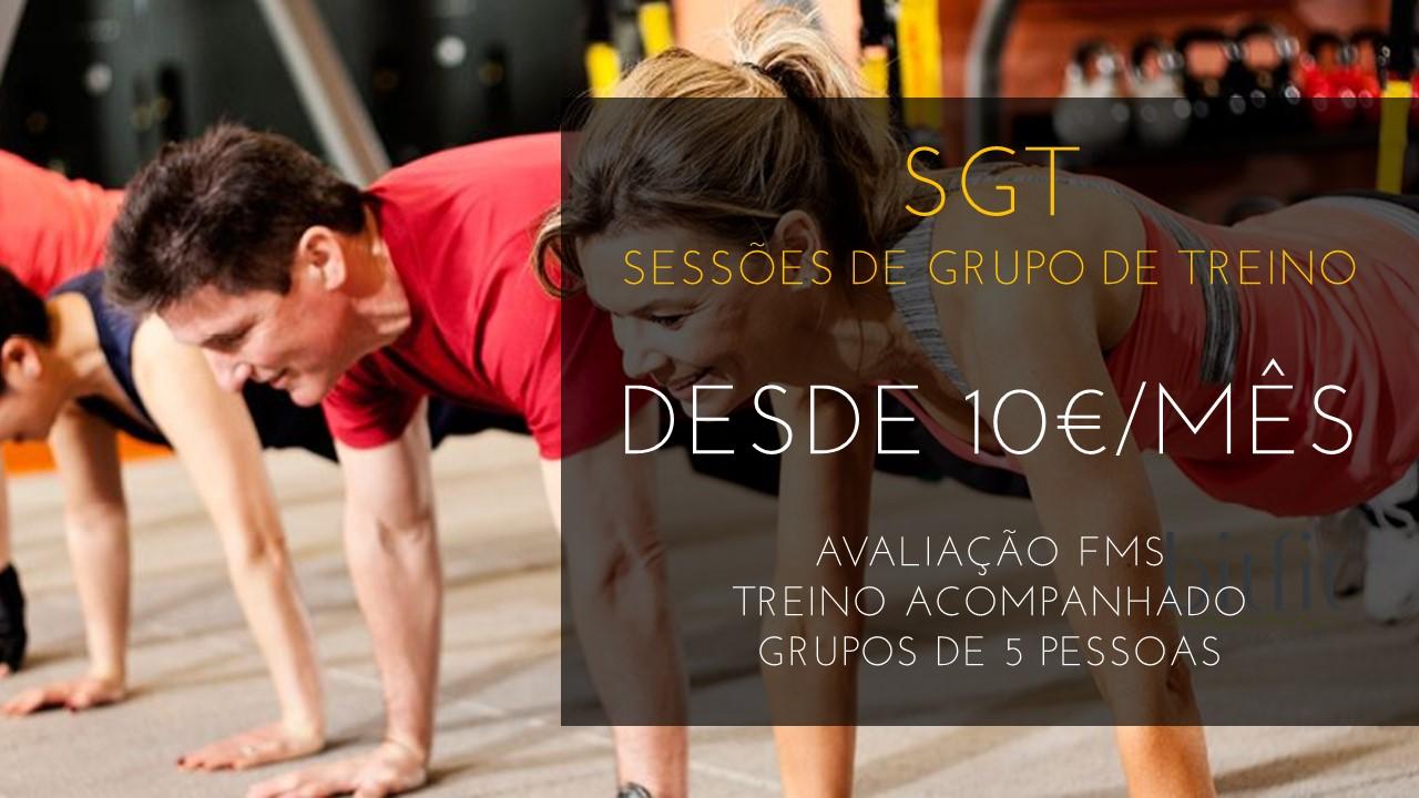 SGT - Sessões de Grupo de Treino